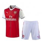 16-17 Arsenal Home Soccer Jersey Kit(Shirt+Short)