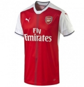 16-17 Arsenal Home Soccer Jersey Shirt