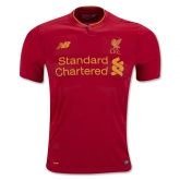 16-17 Liverpool Home Soccer Jersey Shirt