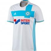 16-17 Marseilles Home White Jersey Shirt