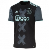 16-17 Ajax Away Navy Soccer Jersey Shirt