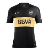 16-17 Boca Juniors Away Black Jersey Shirt