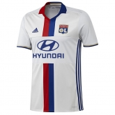 16-17 Olympique Lyonnais Home White Jersey Shirt