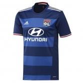 16-17 Olympique Lyonnais Away Blue Jersey Shirt