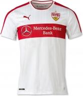 16-17 VfB Stuttgart Home White Jersey Shirt