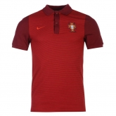 2016 Portugal Red Core Polo T-Shirt