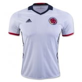 2016 Colombia Home White Soccer Jersey Shirt