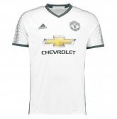 16-17 Manchester United Third Away White Jersey Shirt