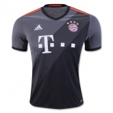 16-17 Bayern Munich Away Gray Jersey Shirt