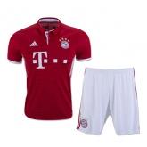 16-17 Bayern Munich Home Jersey Kit(Shirt+Short)