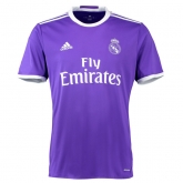 16-17 Real Madrid Away Purple Soccer Jersey Shirt