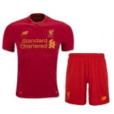 16-17 Liverpool Home Soccer Jersey Kit(Shirt+Short)