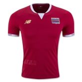 2016 Costa Rica Home Soccer Jersey Shirt