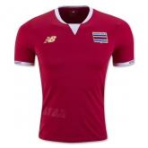 2016 Costa Rica Home Soccer Jersey Shirt