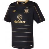 16-17 Celtic Away Black Soccer Jersey Shirt