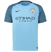 16-17 Manchester City Home Jersey Shirt