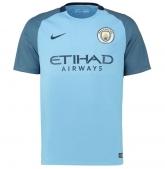 16-17 Manchester City Home Jersey Shirt