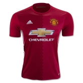 16-17 Manchester United Home Jersey Shirt