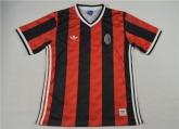 16-17 AC Milan Red&Black Training Jersey Shirt