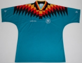 1994 West Germany Retro Away Green Jersey Shirt