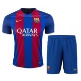 16-17 Barcelona Home Soccer Jersey Kit(Shirt+Short)