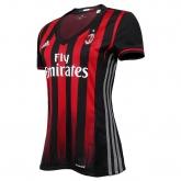 16-17 AC Milan Home Women's Soccer Jersey Shirt