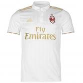 16-17 AC Milan Away White Soccer Jersey Shirt