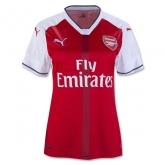 16-17 Arsenal Home Women's Jersey Shirt