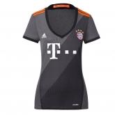 16-17 Bayern Munich Away Gray Women's Jersey Shirt