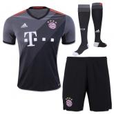 16-17 Bayern Munich Away Gray Jersey Shirt