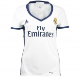 16-17 Real Madrid Home Women's Jersey Shirt