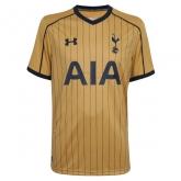 16-17 Tottenham Hotspur Third Away Gold Jersey Shirt
