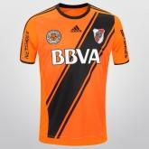 16-17 River Plate Away Orange Soccer Jersey Shirt