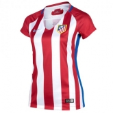 16-17 Atletico Madrid Home Women's Jersey Shirt