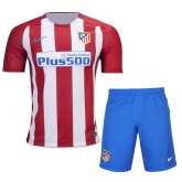 16-17 Atletico Madrid Home Soccer Jersey Kit(Shirt+Short)