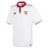 16-17 Sevilla Home White Soccer Jersey Shirt