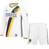 16-17 La Galaxy Home Long Sleeve Jersey Kit(Shirt+Short)