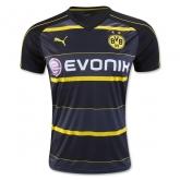 16-17 Borussia Dortmund Away Black Soccer Jersey Shirt