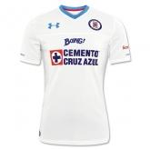 16-17 CDSC Cruz Azul Away White Soccer Jersey Shirt