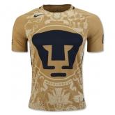 16-17 UNAM Pumas Home Golden Jersey Shirt