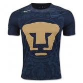 16-17 UNAM Pumas Away Navy Jersey Shirt
