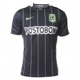 16-17 Atletico National Away Black Jersey Shirt