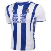 16-17 Real Sociedad Home Soccer Jersey Shirt