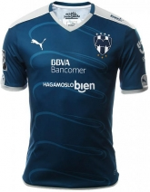 16-17 Monterrey Away Blue Soccer Jersey Shirt