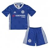 16-17 Chelsea Home Children's Jersey Kit(Shirt+Short)