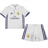16-17 Real Madrid Home Children's Jersey Kit(Shirt+Short)