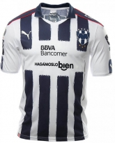 16-17 Monterrey Home White Soccer Jersey Shirt(Player Version)