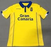 16-17 UD Las Palmas Home Yellow Soccer Jersey Shirt