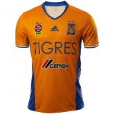 16-17 Tigres UANL Home Yellow Soccer Jersey Shirt