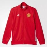 16-17 Mancehster United Red Three Stripe Jacket